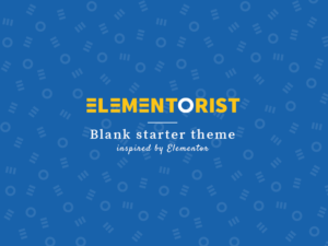 Elementorist theme screenshot