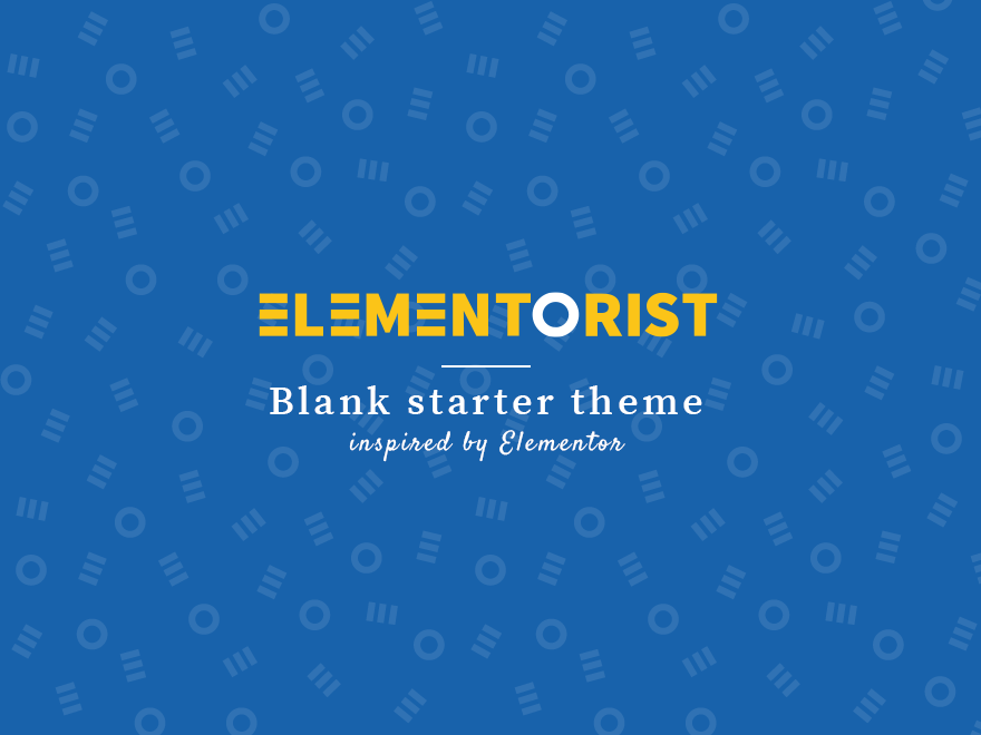 Elementorist theme screenshot